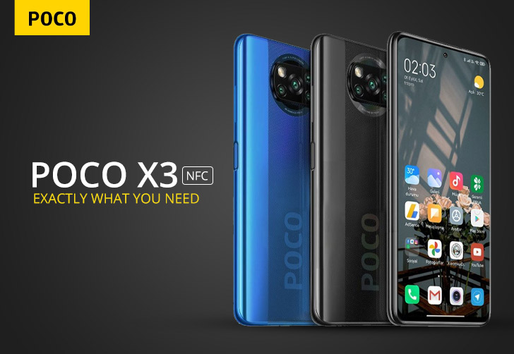 Xiaomi Poco X3 NFC Price in Saudi Arabia  GetMobilePrices